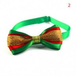 2 * - 2 * Kutya macska kisállat kiskutya aranyos bowknot nyakkendő gallér íj nyakkendő karácsonyi party ruhák
