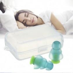 * 3 Tiszta Puha szilikon elleni zajhabos fül füldugók Újrafelhasználható komfortos úszás alvó munkapadhoz