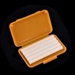 Sárga (narancs íz) 1Pack fogászati fogszabályozás Ortho viasz gyümölcs illat kefék konzerv gumi védő