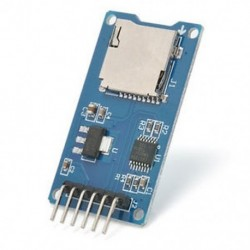 Micro SD TF tárolótábla Mciro SD TF kártya memóriavédő modul SPI az Arduino számára Micro SD TF tárolótábla Mciro