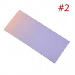 * 2 40db szivárvány színes ragadós jegyzetek rajzfilm írás diák tanulmány papír memo pad