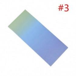 * 3 40db szivárvány színes ragadós jegyzetek rajzfilm írás diák tanulmány papír memo pad