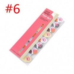 * 6 Hot Cartoon Animal Panda macska Memo Pad matricák Sticky Notes iskola helyhez kötött