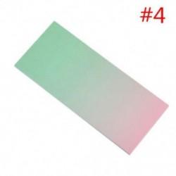 * 4 40db színes szivárványos öntapadó jegyzetek rajzfilm írása diák tanulmány papír jegyzetfüzet