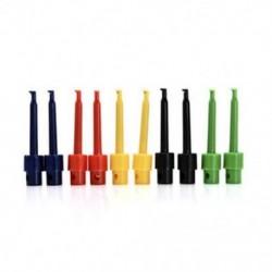 5.6cm 10pc legújabb multiméteres vezetékhuzal-készlet tesztkábel rögzítő készlet színes csatlakozóhoz