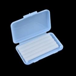 Kék (menta íz) 1 doboz fogászati ortodontika Ortho viasz a zárójel gumi irritációhoz Gyümölcs illat