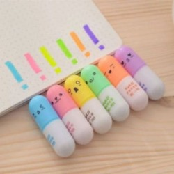 6Pcs Mini aranyos írószer díj kellékek Graffiti író iskola irodai ajándékok 6Pcs Mini aranyos írószer toll kellékek