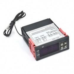 Mini-hőmérséklet szabályozó Digitális STC-1000 hőmérséklet-szabályozó termosztát érzékelőkészlettel