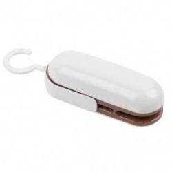 Barna Hordozható műanyag rágcsálók Resealer Pocket Mini tömítő zsák tömítés hő cilps eszköz