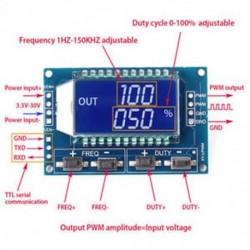 PWM-impulzus frekvenciaváltó-vezérlőjel utólagos modul LCD 3.3V-30V PWM-impulzus frekvenciaváltó-vezérlőjel