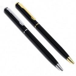 Új rozsdamentes acél toll golyópont irodai golyóstoll írás iskolai papír