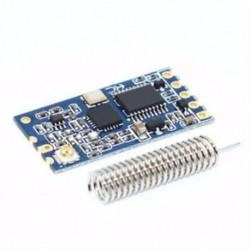 1PCS 433Mhz HC-12 SI4463 vezeték nélküli soros portmodul 1000m Cserélje ki Bluetooth Hot funkciót 1PCS 433Mhz HC-12 SI4463