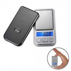 0,01 * 200g LCD ultrahangos ékszer drog digitális hordozható zsebmérleg Mini pontos 0,01 * 200g LCD ultrahangos ékszer
