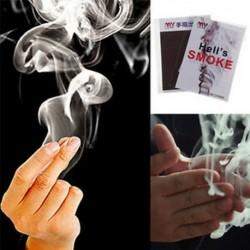Új imádnivaló ujj - füst mágikus trükk mágikus illúzió színpad közeli felállás