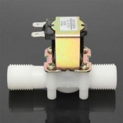 DC 12V 1/2 &quot elektromos mágnesszelep mágneses DC N / c vízlevegő bemeneti áramláskapcsoló DC 12V 1/2 &quot