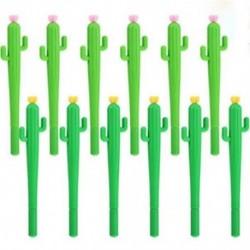 2db Kaktusz mintás golyóstoll - Iskolába - Kreatív íráshoz - Díszítéshez - 24