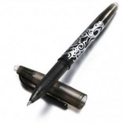 Fekete 0,5 mm Kreatív 0.7 mm-es törölhető gél tintapatron tanulás alapvető iskolai irodai ellátás 1db