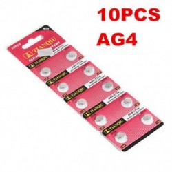 10 db PC-k 1.55V SR626SW 377 V377 177 L626 AG4 SR66 gombérme-akkumulátor