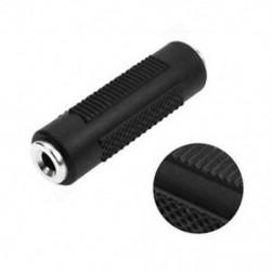2X Stereo Mini 3.5mm 1/8 &quot Aux Nő a női F / F jack audió adapter átalakítóhoz