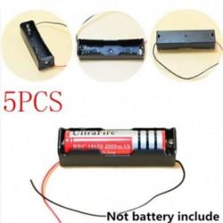 D-5db műanyag doboz Hordozható műanyag elemtartó fedél tartó tároló doboz akkumulátorokhoz JP