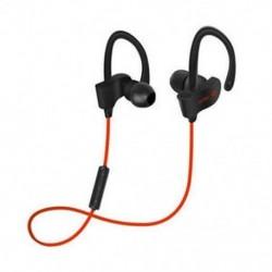 Piros Univerzális vezeték nélküli Bluetooth fülhallgató Sport sztereó fülhallgató fejhallgató Kézzel szabad JP