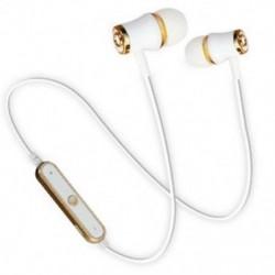 * 2 Arany Univerzális vezeték nélküli Bluetooth fülhallgató Sport sztereó fülhallgató fejhallgató Kézzel szabad JP
