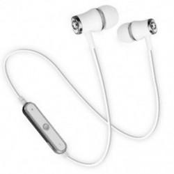 * 2 Ezüst Univerzális vezeték nélküli Bluetooth fülhallgató Sport sztereó fülhallgató fejhallgató Kézzel szabad JP