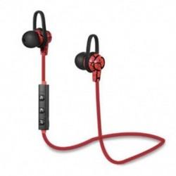 * 4 Vörös Univerzális vezeték nélküli Bluetooth fülhallgató Sport sztereó fülhallgató fejhallgató Kézzel szabad JP