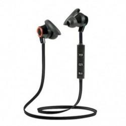 * 5 Vörös Univerzális vezeték nélküli Bluetooth fülhallgató Sport sztereó fülhallgató fejhallgató Kézzel szabad JP