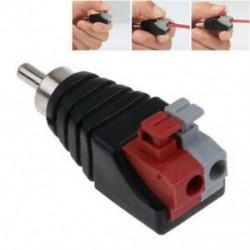 Hangszóró vezetékes A / V kábel az audió RCA csatlakozó adapterhez Nyomja meg a Jack Plug LED-et
