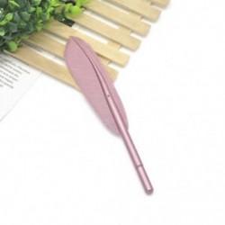 Rózsaszín Vágja a tollal ellátott zselés tollak irodai iskolai diákjait írószerek születésnapi ajándékba
