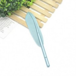 Kék Vágja a tollal ellátott zselés tollak irodai iskolai diákjait írószerek születésnapi ajándékba