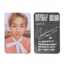 * 2 WINWIN KPOP NCT 2018 Hivatalos fotókártya fotókártya poszter Lomo kártyák tagjai Új