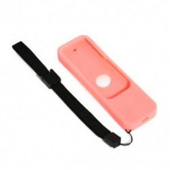 Rózsaszín Szilikon távvezérlő tok Protective Cover Skin Az Apple TV 4. generációs Siri számára