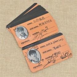 86 x 59mm-es 7db fényképes kártya autogrammal - LOMO kártya - KPOP - NCT - 2