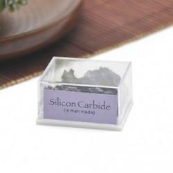 Szilícium-karbid 1Box vegyes természetes durva kövek nyers rózsa kvarc kristály ásványi sziklák gyűjteménye
