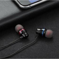 Fekete C típusú USB-C fülhallgató fülhallgató fülhallgató fülhallgatóval
