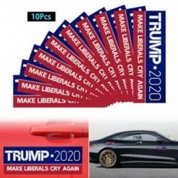 10PCS Trump 2020 autós lökhárító matricák A liberálisok újra sírnak tartanak Amerika nagyszerű