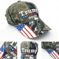 Új elnök Donald Trump 2020 Cap Camouflage USA zászló Baseball sapka hadsereg kalap