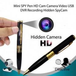 Mini DV DVR Cam Spy Pen Rejtett videokamera-felvevő 1280 * 960 Kém videokamera