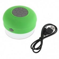 Zöld Új vízálló Bluetooth vezeték nélküli hangszóró kihangosító mikrofon Mic szívó autó zuhany