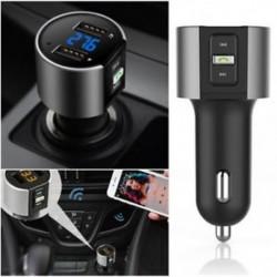 Vezeték nélküli autós Bluetooth FM adó-adó MP3 rádióadapter Autós készlet USB töltő