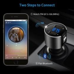 Vezeték nélküli Bluetooth-autós FM-adó-adó MP3 rádióadapter autóskészlet USB töltő