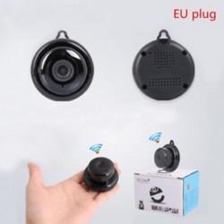 EU Plug 1080P vezeték nélküli mini WIFI IP kamera HD intelligens otthoni biztonsági kamera éjszakai látás