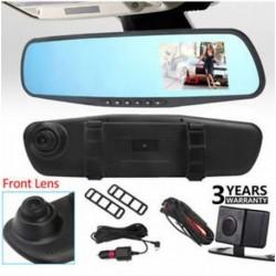 4.3â € ť HD 1080P Dual Lens hátsó tükör autó DVR Dash Cam felvevő kamera készlet