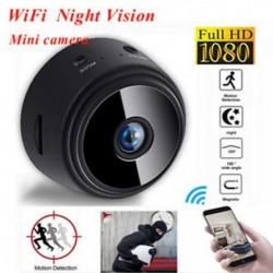 Mini Spy IP kamera Vezeték nélküli WiFi HD 1080P rejtett otthoni biztonsági kamera éjszakai látás