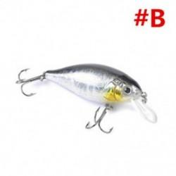B 1db 7 cm-es 13g-os halászati csalit Horgász csalik Crankbaits horog Minnow garnélarák béka Fish Baits Bass Tackle Tool
