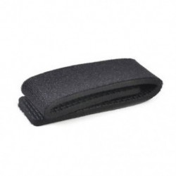 Fekete Horgászbot kötözőszíj övcsat rugalmas gumibetétes pólus tartó újonnan JP