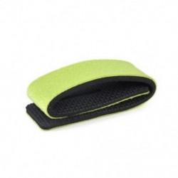 Zöld Horgászbot kötözőszíj övcsat rugalmas gumibetétes pólus tartó újonnan JP