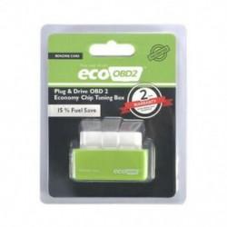 Zöld Gazdaságos üzemanyag-megtakarító Eco OBD2 Benzin Tuning Box Chip autós benzinmegtakarításhoz 4Color